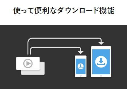 ダウンロード機能のイメージ図