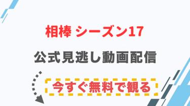 【ドラマ】相棒 シーズン17の配信情報|公式の無料見逃し動画視聴方法