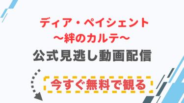 【ドラマ】ディア・ペイシェント~絆のカルテ~の配信情報|公式の無料見逃し動画視聴方法