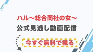【ドラマ】ハル〜総合商社の女〜の配信情報|公式の無料見逃し動画視聴方法