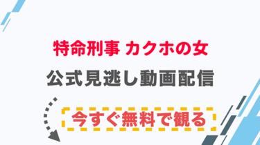【ドラマ】特命刑事 カクホの女の配信情報|公式の無料見逃し動画視聴方法