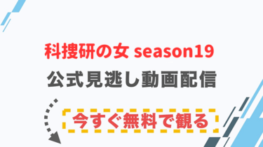 【ドラマ】科捜研の女 season19の配信情報|公式の無料見逃し動画視聴方法
