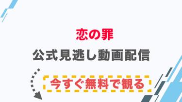【映画】恋の罪の配信情報|公式の無料見逃し動画視聴方法