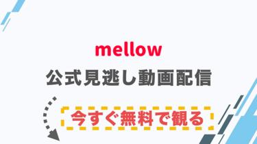 【映画】mellow(メロウ)の配信情報|公式の無料見逃し動画視聴方法