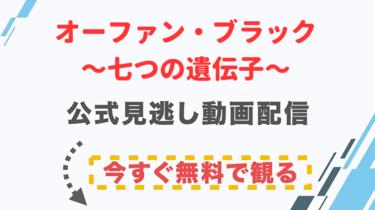 【ドラマ】オーファン・ブラック〜七つの遺伝子〜の配信情報|公式の無料見逃し動画視聴方法